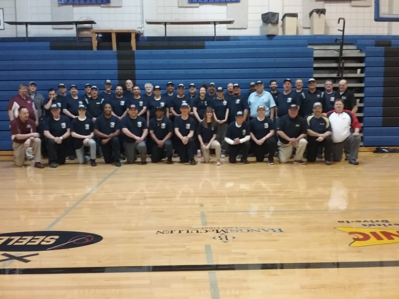 2018 umpire school group