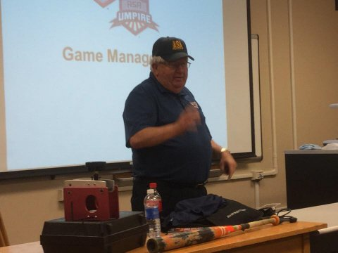 Wild Bill Silves at '15 Clinic